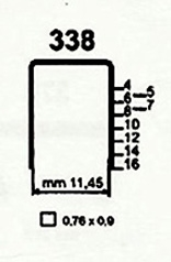 Čalounické spony 338/12 ZN 140 (delší návin)