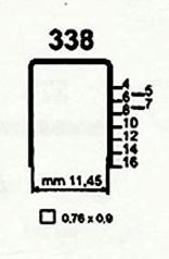 Čalounické spony do sponkovačky 338/06 ZN 140