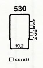 Čalounické spony 530/14 ZN